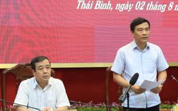 """Hủy chuyến """"công tác"""" giữa dịch Covid-19, Bí thư, Chủ tịch Thái Bình về chủ trì họp khẩn"""
