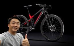 Sau tin đồn bán Porsche 911, doanh nhân Nguyễn Quốc Cường 'tậu'... xe đạp địa hình giá 70 triệu đồng