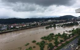 Trung Quốc thông báo xả lũ ở sông Hồng, Đài Khí tượng Lào Cai dự báo nước dâng đỉnh ở mức báo động 2
