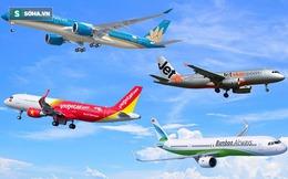 Hàng không liên tục tung vé máy bay siêu rẻ dưới 100.000 đồng