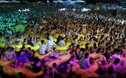 24h qua ảnh: Đám đông chen chúc lễ hội âm nhạc ở Vũ Hán