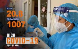 Bộ Y tế rút trường hợp BN994 khỏi danh sách ca Covid-19; Chiều nay, ghi nhận 14 ca bệnh mới, Việt Nam có 1007 bệnh nhân