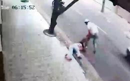 Bắt băng cướp kéo lê cô gái trên đường