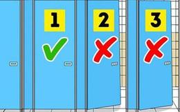 Làm sao để sử dụng toilet công cộng một cách an toàn? Đây là 8 điều cần phải ghi nhớ, nếu không muốn rước bệnh vào người