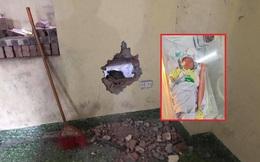 Công an huyện Gia Lâm đề xuất khen thưởng 5 công dân cứu cháu bé sơ sinh bị kẹt trong tường
