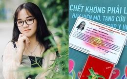 """Cẩm Hằng - cô gái xinh đẹp người Việt ở Nhật quyết tâm hiến toàn bộ tạng ở tuổi 22: """"Đó là ước mơ từ nhỏ của mình, chỉ giữ lại giác mạc theo nguyện vọng của mẹ"""""""