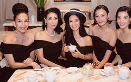 Hội bạn toàn mỹ nhân giàu có Vbiz hiếm hoi hội ngộ: Hà Kiều Anh - Hồng Nhung đọ sắc bất phân, cả bàn toát lên khí chất sang chảnh