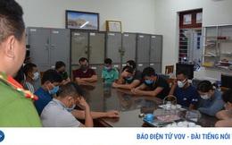 Bắt 14 đối tượng đánh bạc trên biển Quảng Ninh