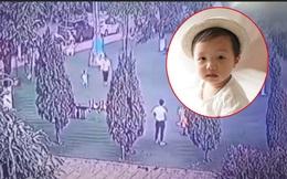 Bé trai mất tích ở Bắc Ninh mặc quần áo cộc màu ghi, áo in hình chuột Mickey, không đi dép