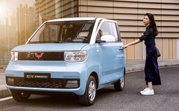 """Cận cảnh ô tô điện giá 96 triệu đồng của Trung Quốc, """"nhái"""" Kia Morning"""
