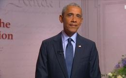 """Điểm bất thường trong bài phát biểu của cựu TT Obama: Thông điệp """"đầy nỗi sợ"""" gửi người Mỹ"""