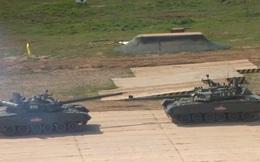 Tank Biathlon 2020: Mãn nhãn màn trình diễn kỹ thuật đẳng cấp của xe tăng Nga
