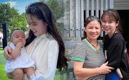 Huỳnh Anh giận dỗi vẫn giữ ảnh chụp cùng gia đình Quang Hải, còn anh chàng lại xóa sạch dấu vết giống với Nhật Lê