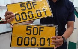 Đã có gần 2.000 ôtô gắn biển số vàng ở TP HCM