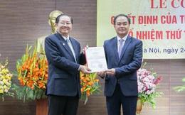 Trao quyết định của Thủ tướng bổ nhiệm Thứ trưởng Bộ Nội vụ