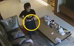 Kiểm tra camera trong phòng khách, chủ nhà kinh hãi phát hiện nữ giúp việc cho khẩu trang vào quần rồi rút ra để lại chỗ cũ