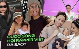 Cuộc sống hôn nhân hội rapper hot nhất Vbiz: Tiến Đạt yên bề ở cơ ngơi hoành tráng, Suboi - Rhymastic khác 180 độ so với Rap Việt