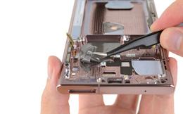 """'Mổ xẻ"""" Galaxy Note 20 phát hiện điều bất thường mà Samsung không nói trước với khách hàng"""