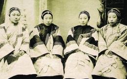 Loạt ảnh cũ quý hiếm phản ánh chân thực dung nhan của những phụ nữ vào cuối thời nhà Thanh