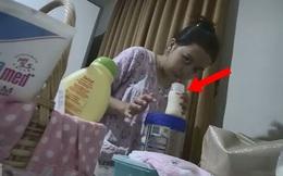 Cộng đồng mạng phẫn nộ với đoạn clip ngắn ghi lại hành động ác độc của nữ giúp việc khi pha sữa cho con của chủ nhà