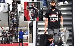 Nhà vô địch Champions League trở về Munich trong lặng lẽ