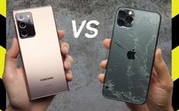Thử nghiệm thả rơi Galaxy Note20 Ultra để xem kính cường lực Gorilla Glass Victus có thực sự cứng như lời đồn?