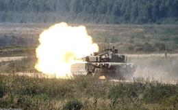 Tăng T-80BVM mới nâng cấp của Nga bắn trượt mục tiêu tại ARMY-2020