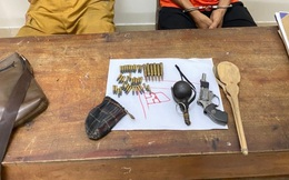 Bị tấn công, kẻ buôn ma túy rút lựu đạn và súng chống trả
