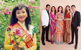Hoa hậu Việt Nam biết 5 ngôn ngữ, chịu điều tiếng vì lấy chồng Ấn Độ giờ ra sao?