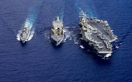 """Trung tướng Đài Loan: Trong chiến tranh, nếu hạm đội Mỹ cùng tập trung tại một chỗ, tên lửa TQ sẽ """"đánh bay"""" tất cả"""