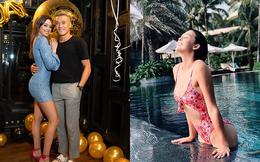 Cận cảnh bạn gái là người mẫu Tây nóng bỏng, sinh năm 2000 của Bùi Tiến Dũng