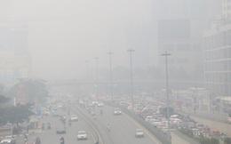 Chất lượng không khí Hà Nội lại kém, người già, trẻ em nên hạn chế ra ngoài