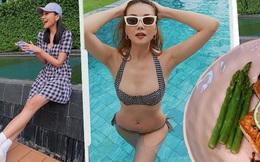 Sắp 40 tuổi nhưng siêu mẫu Thanh Hằng lúc nào cũng trẻ trung và tràn đầy sức sống - Bí mật nằm ở những gì cô ấy ăn mỗi ngày
