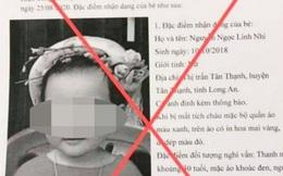 Triệu tập đối tượng giả mạo thông báo truy tìm bé gái bị bắt cóc