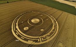 Khám phá bí ẩn 'Crop Circle' - những vòng tròn tuyệt tác được cho là của người ngoài hành tinh