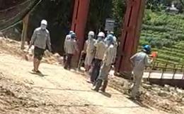 Công ty thi công thủy điện ở Lào Cai cam kết gì sau vụ hàng chục đối tượng cầm hung khí dọa dân?