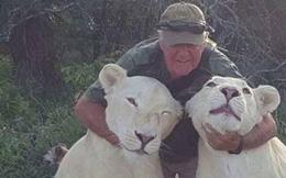 Sinh nghề tử nghiệp: Cả đời cống hiến cho động vật hoang dã, nhà bảo tồn bất ngờ bị đôi sư tử trắng quý hiếm mình nuôi cắn chết