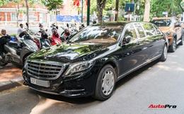 Mercedes-Maybach S600 Pullman của Chủ tịch tập đoàn FLC bất ngờ xuất hiện trên phố, chiều dài của xe gây ấn tượng