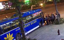 """Làm rõ tố cáo cảnh sát giao thông """"bảo kê"""" bến xe khách trái phép trên đường Nguyễn Xiển, Khuất Duy Tiến"""