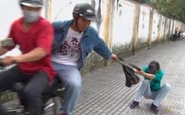 Người phụ nữ té chấn thương sọ não do bị cướp giật túi xách ở Sài Gòn