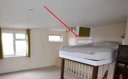 Căn nhà được bán với giá 3,8 tỷ đồng, mọi thứ đều ổn cho đến khi dân mạng phát hiện chiếc giường kỳ lạ khiến người nằm lăn một phát rồi... chết luôn