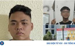 Khởi tố thanh niên dùng tuýp sắt gắn dao nhọn chống trả công an tại Hà Nội