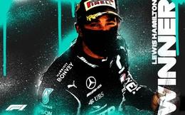 Đua xe F1: Lewis Hamilton về nhất tại GP Bỉ