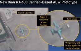 Ảnh vệ tinh hé lộ máy bay cảnh báo sớm trên tàu sân bay Trung Quốc