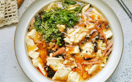 Bữa sáng nấu món súp này thì ngon - bổ - rẻ lại còn nhanh dễ bất ngờ