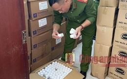 Triệt phá đường dây sản xuất hàng chục nghìn lọ thuốc ho giả