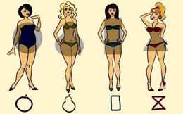 Bạn sở hữu thân hình quả lê hay đồng hồ cát, điều đó sẽ tiết lộ rất nhiều về cá tính của bạn
