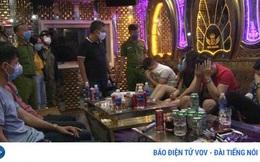 """Bắt quả tang 11 đối tượng """"phê"""" ma túy tại quán karaoke"""