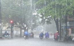 Thời tiết ngày 4/8: Bắc Bộ mưa lớn diện rộng
