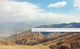 """Khảo sát địa chất, phát hiện những """"bóng ma"""" rùng mình ở hồ sông băng Tây Tạng"""